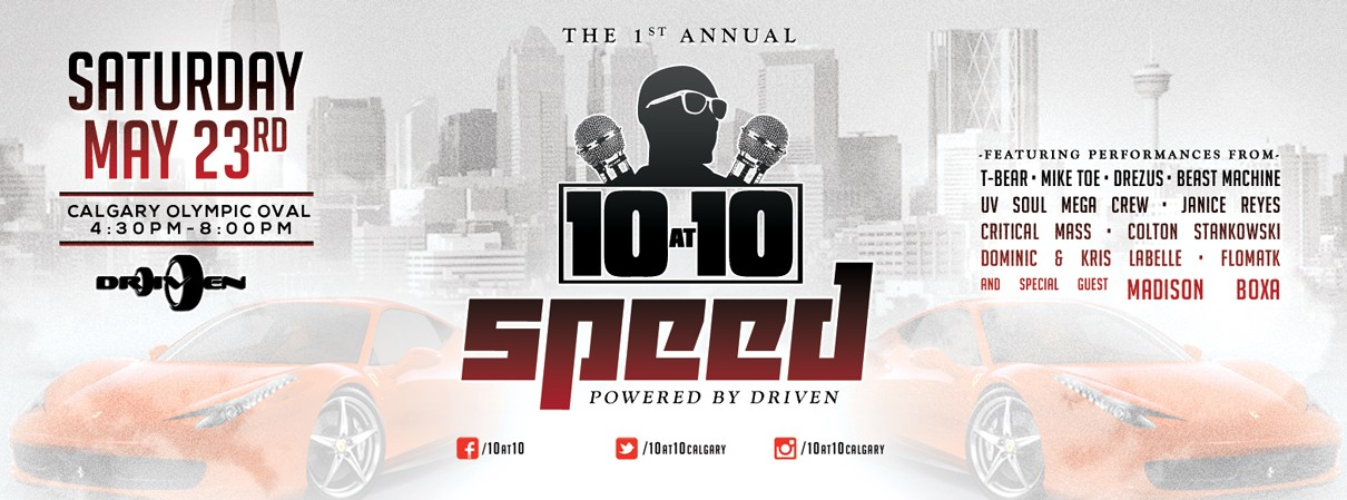 The 1st Annual 10 at 10 Speed