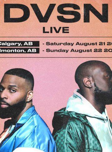 DVSN Live In Concert Calgary + Edmonton
