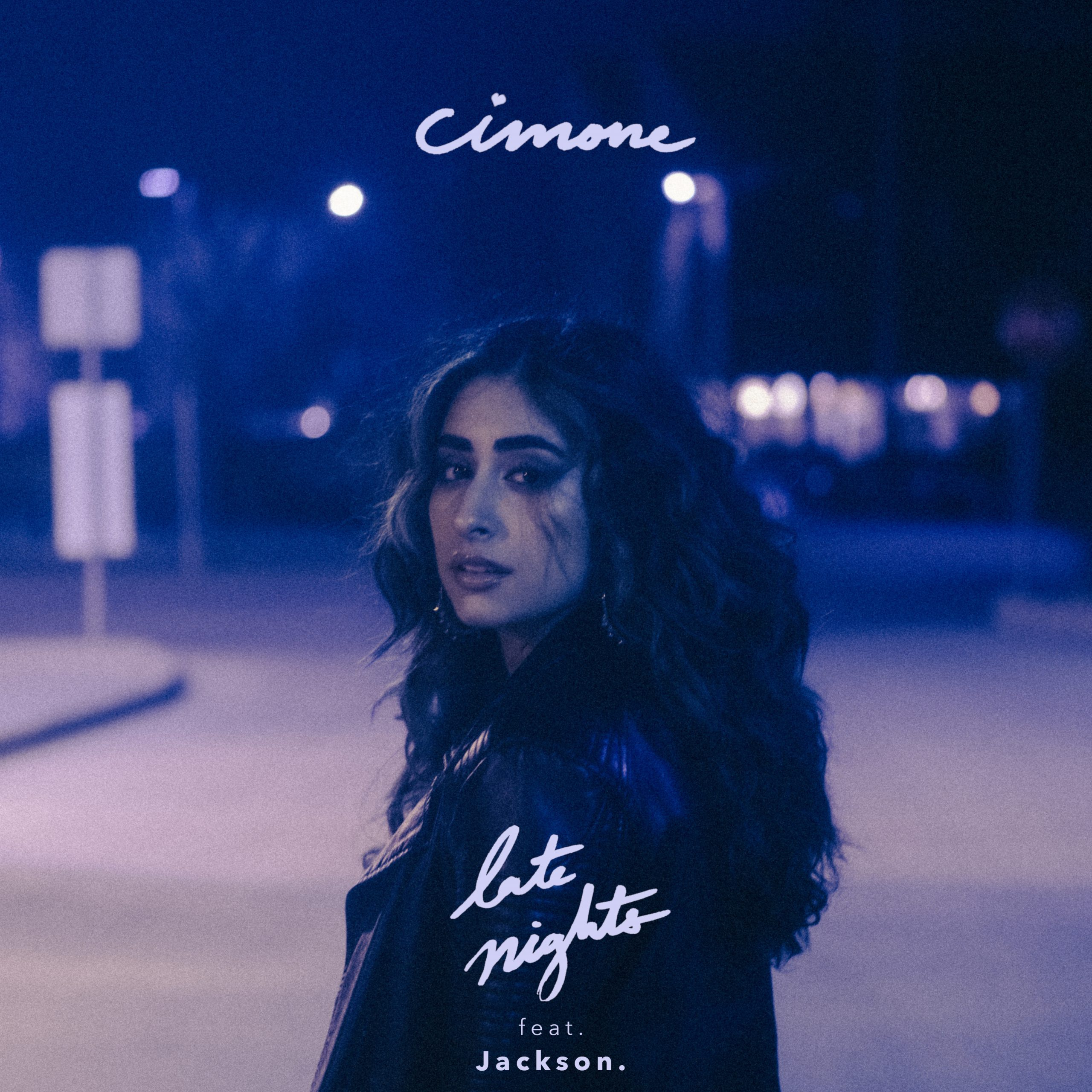 "Album artwork of Cimone's latest release ""Late Nights"""